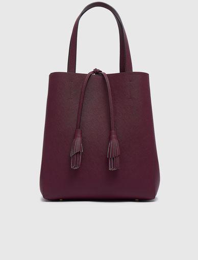 Saffiano-effect shopper bag Marella