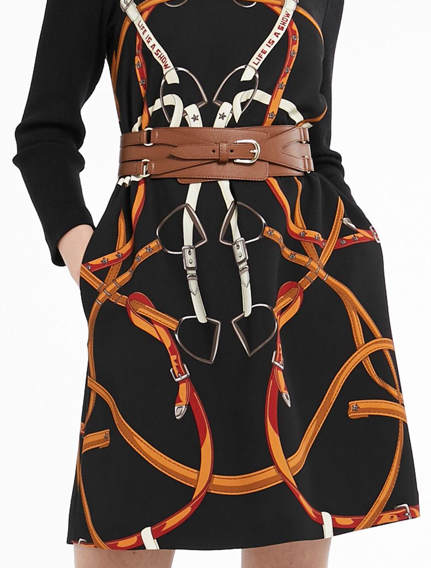 Belt with elastic Marella