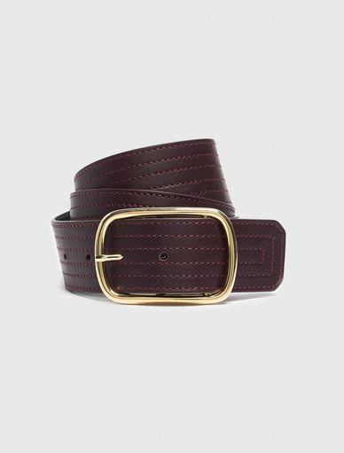 Belt with stitching Marella