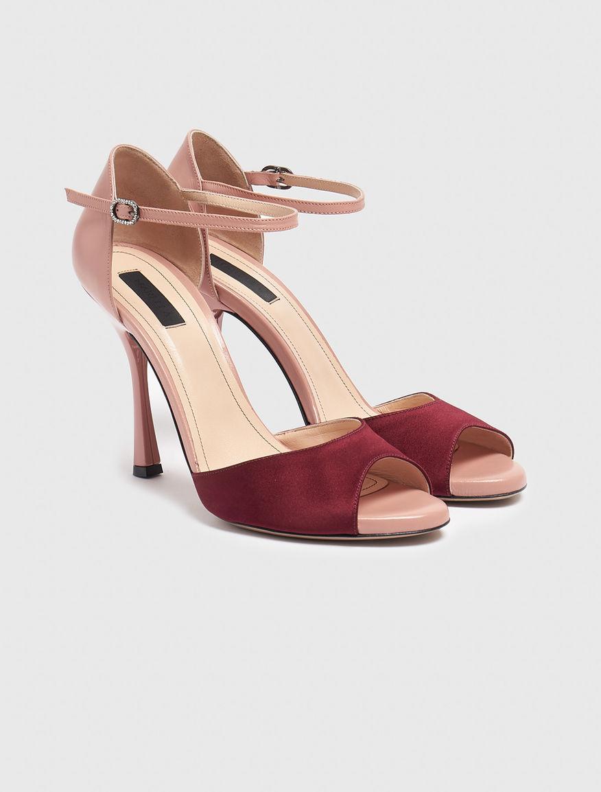 Sandalia de raso Marella