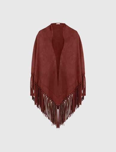 Fringed shawl Marella