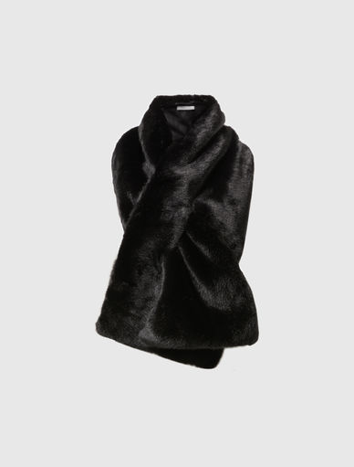 Fur-effect collar Marella