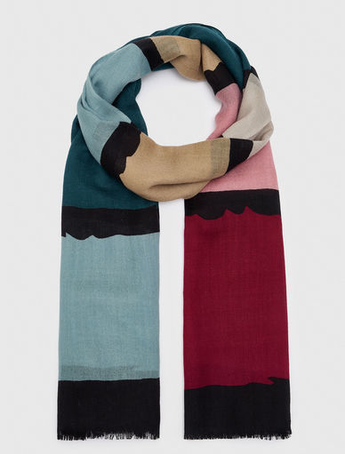 Striped scarf Marella