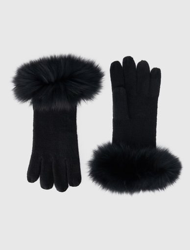 Fur gloves Marella