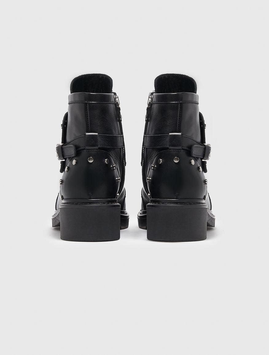 Biker boots with studs Marella