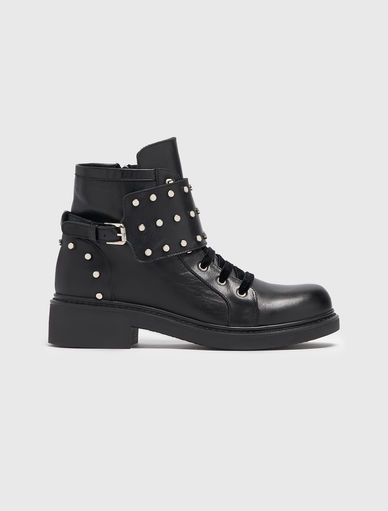 Biker boots with studs Marella