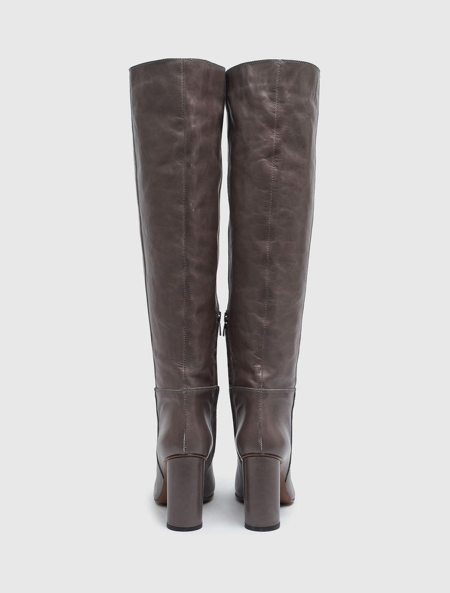 Leather boots Marella