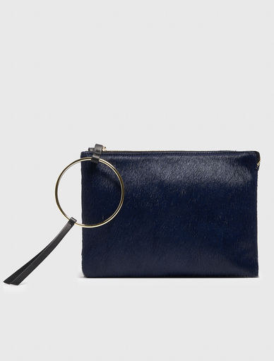 Clutch in cavallino Marella