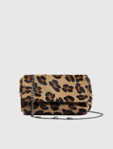 Bolso con estampado animal Marella