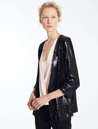 Blazer with sequins. Marella