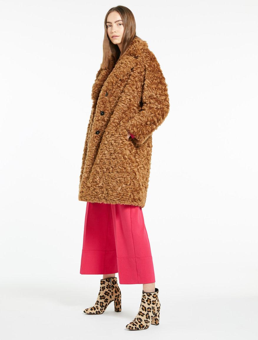 Faux fur coat Marella