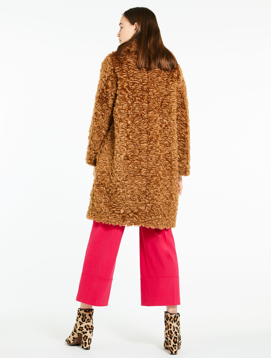 Faux fur coat Marella