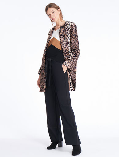 Animal-print jacket Marella