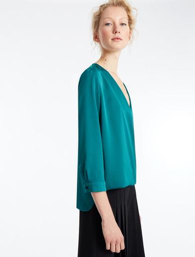 Blusa in raso Marella
