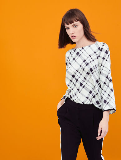 Check blouse Marella