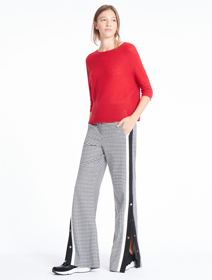 Pantaloni pied de poule Marella