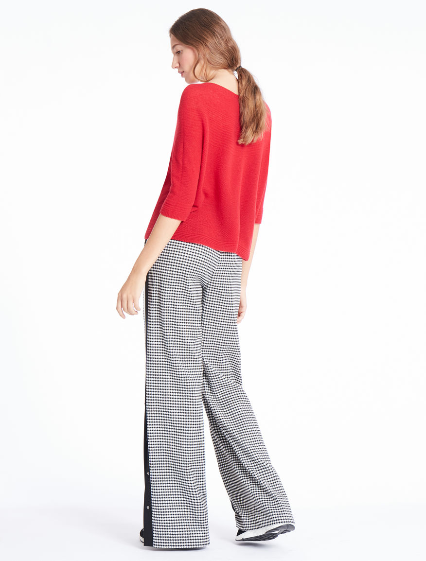 Houndstooth trousers Marella