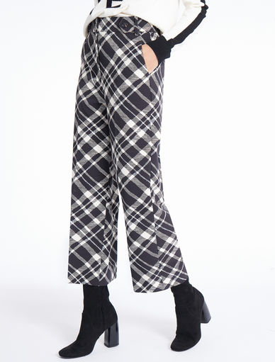 Check trousers Marella