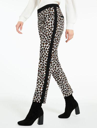 Animal-print trousers Marella