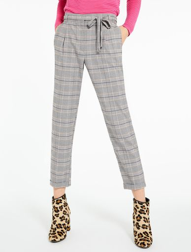 Prince of Wales check trousers Marella