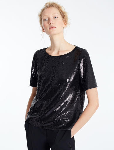 Top with sequins Marella