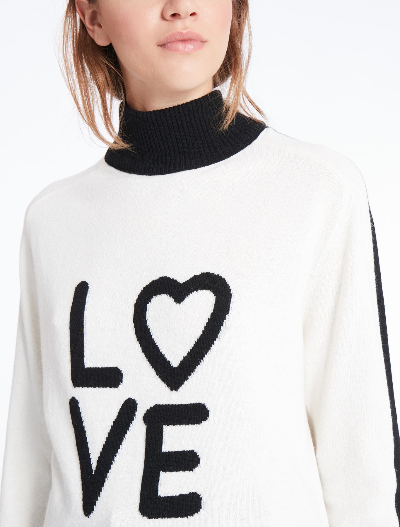 Pullover mit Aufschrift, sahne - Marella