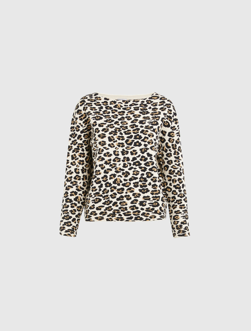 Animal-print jumper Marella