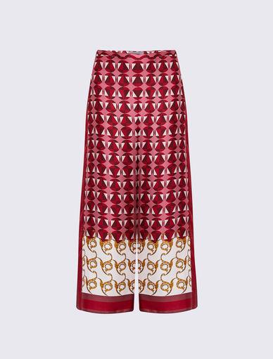 Pantaloni stampa foulard Marella