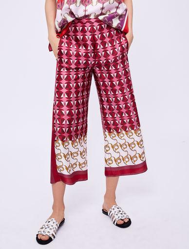 Pantalon avec imprimé foulard Marella