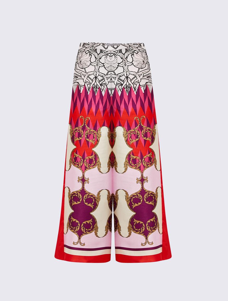 Scarf print trousers Marella