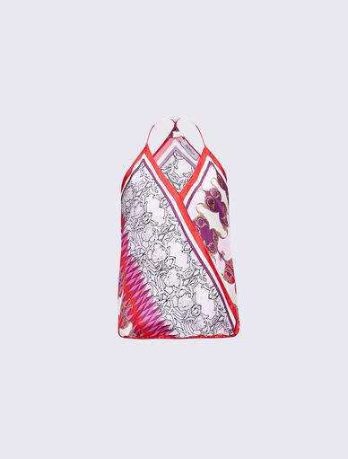 Top avec imprimé foulard Marella