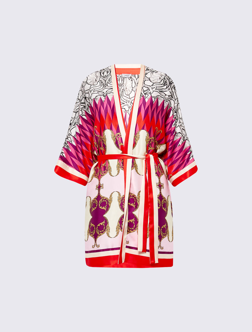 Kimono stampa foulard Marella