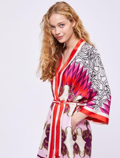 Kimono estampado pañuelo Marella