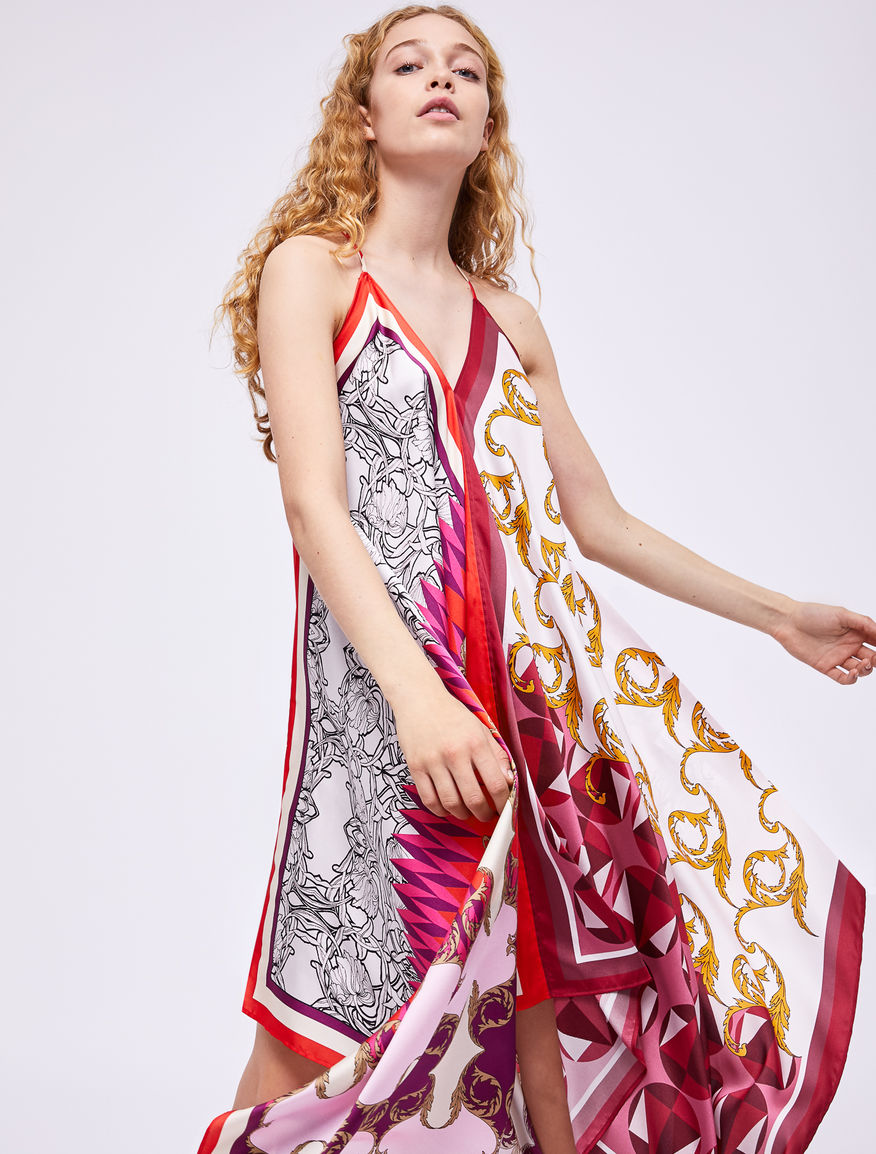 Scarf print dress Marella