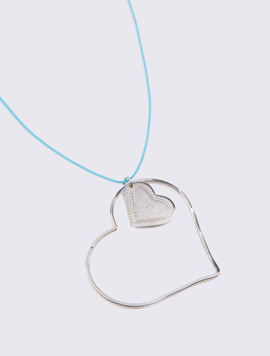 Necklace with #NEVERALONE cord Marella