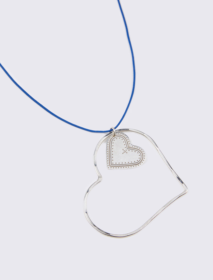 Necklace with #NEVERALONE cord Marella