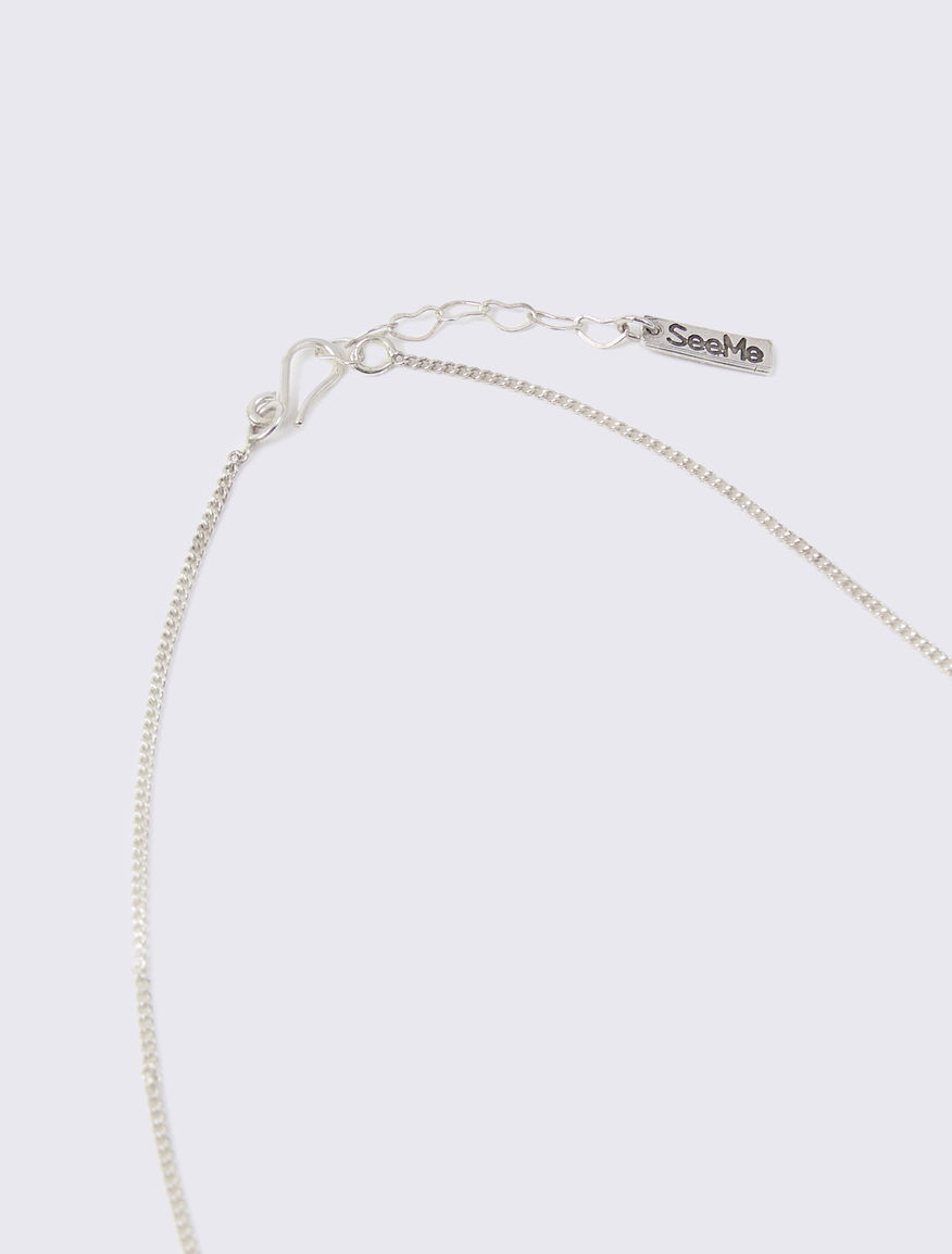 Necklace with #NEVERALONE hearts Marella