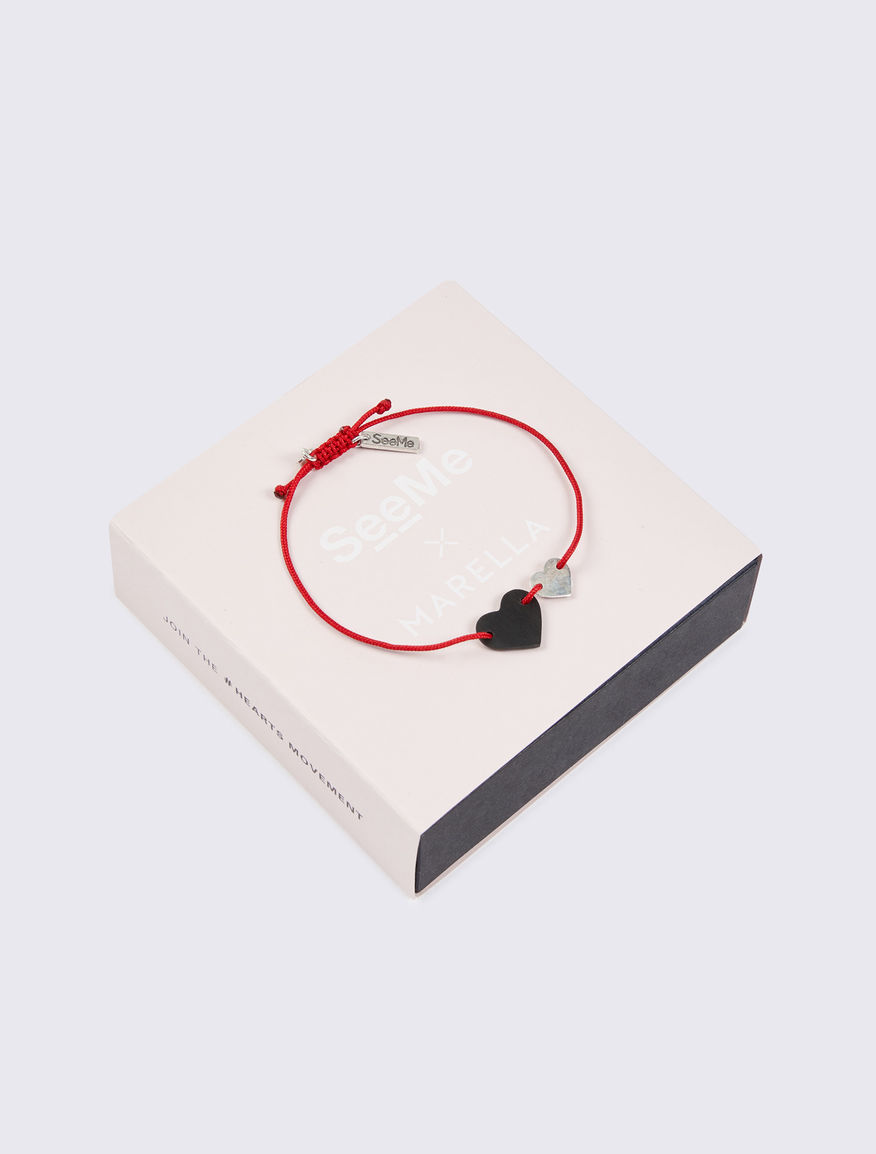 Bracelet with #NEVERALONE cord Marella