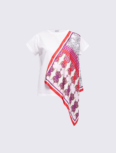 T-shirt avec imprimé foulard Marella
