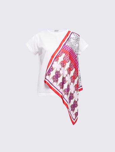 Scarf print T-shirt Marella
