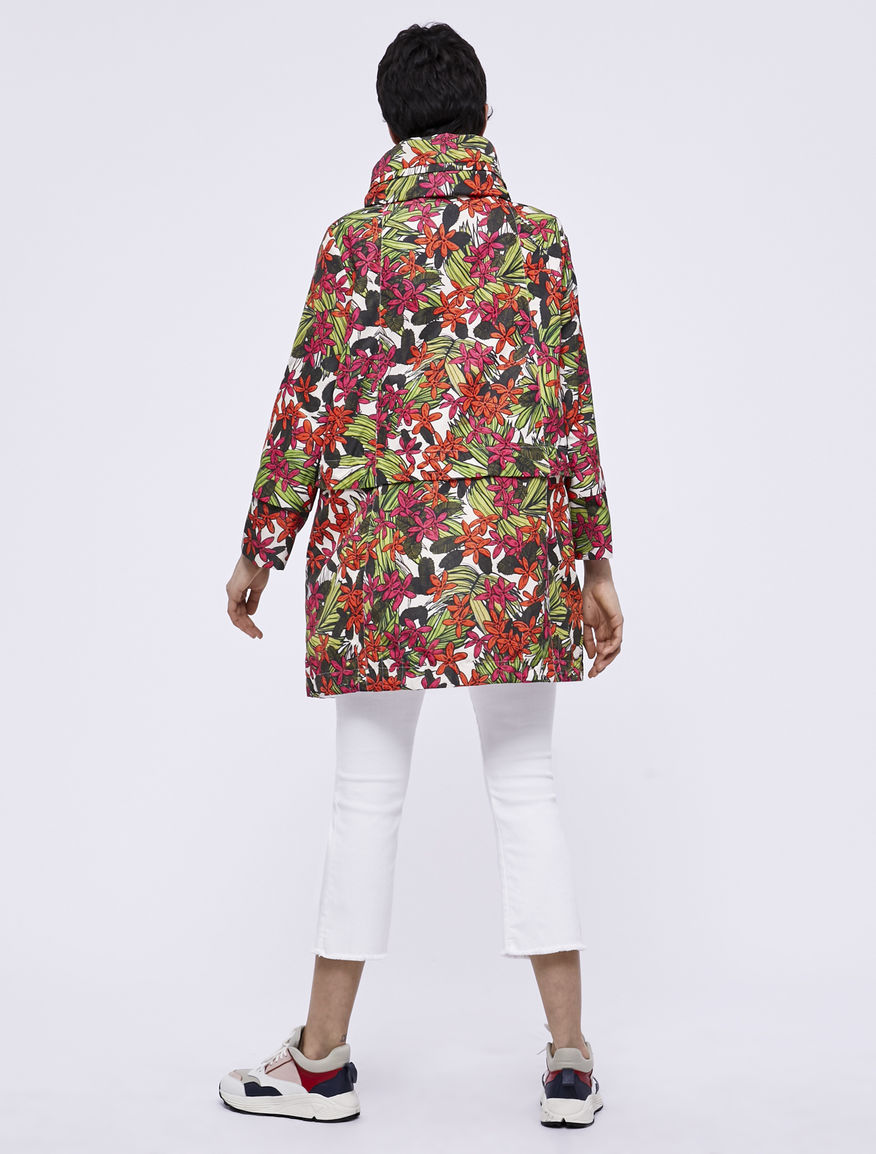 Patterned raincoat Marella