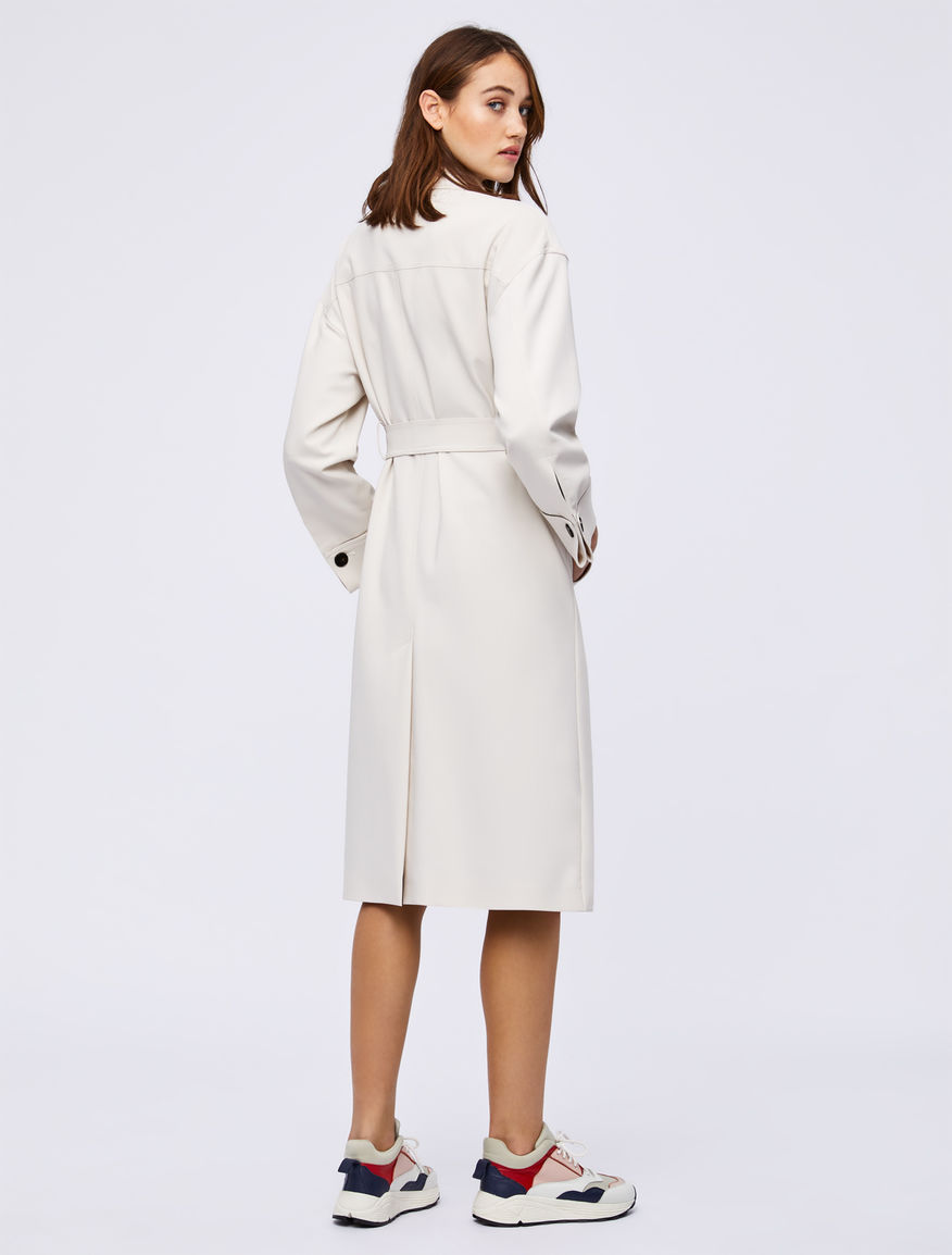 Cotton trench coat Marella