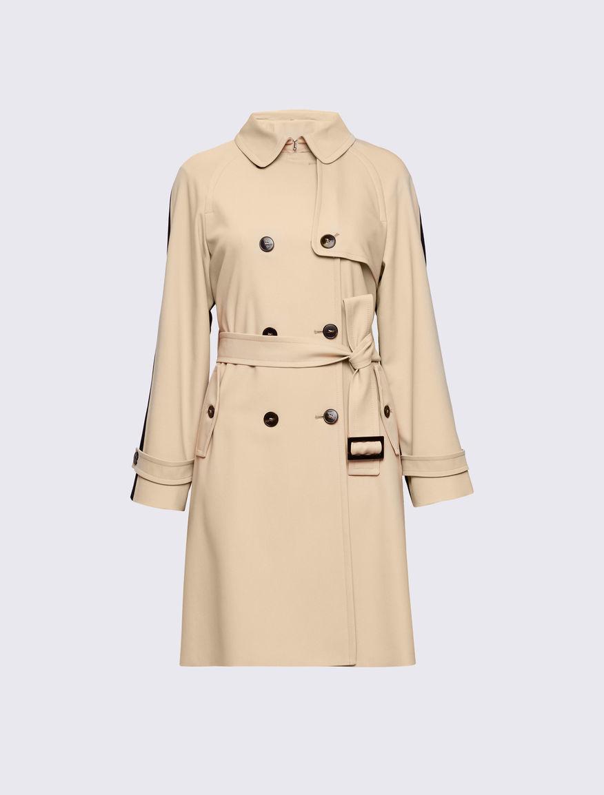 Two-tone trench coat Marella