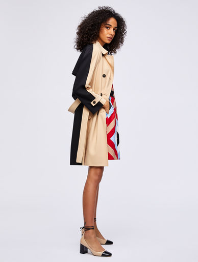 Two-tone trench coat Marella