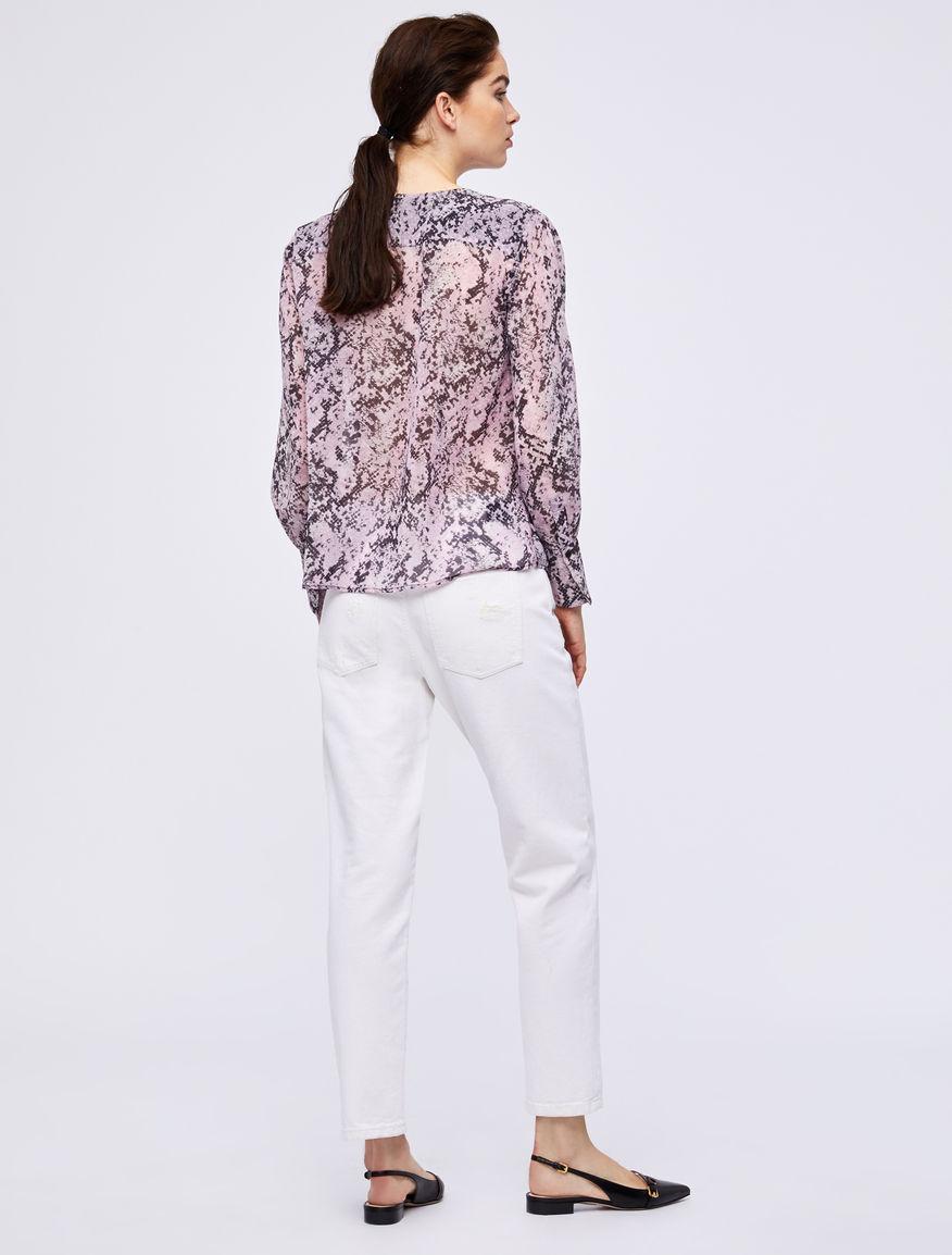 Chiffon blouse Marella
