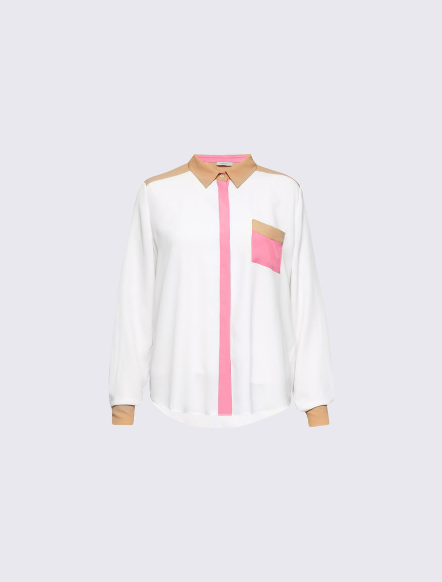 Camicia color-block Marella