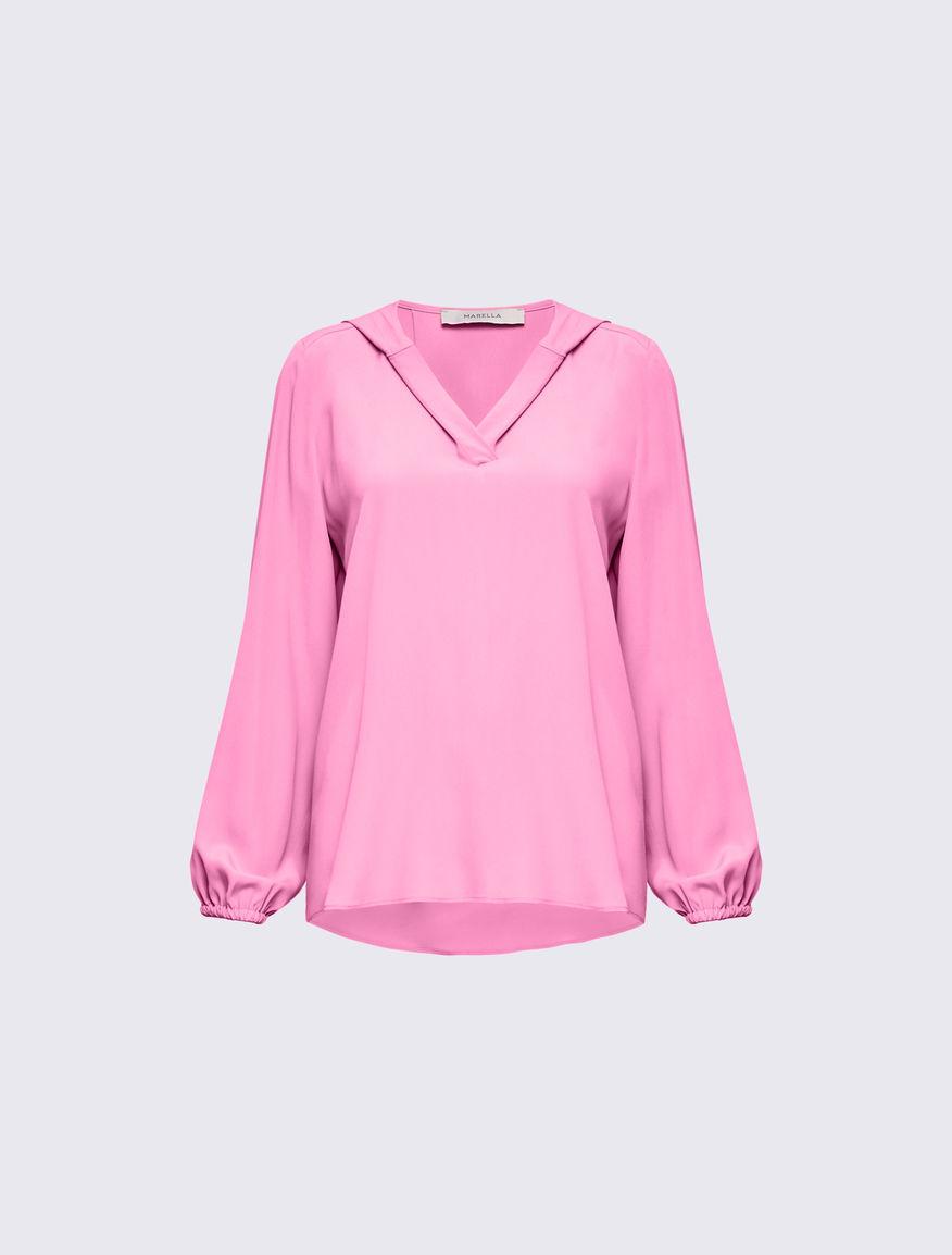 Blusa con capucha Marella