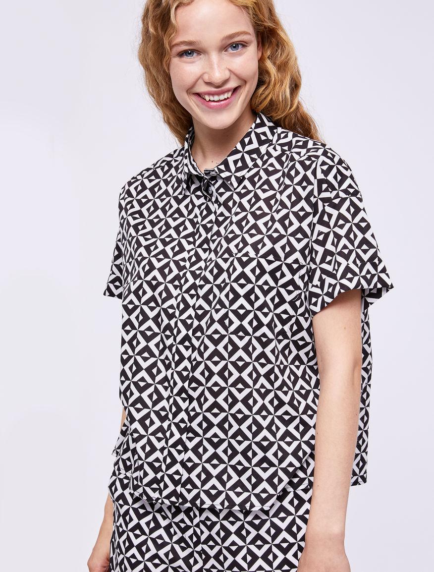 Camisa estampado Marella
