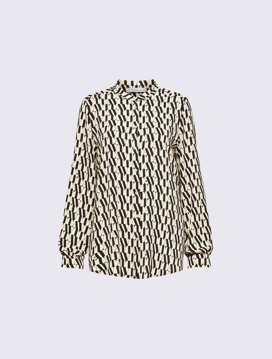 Patterned shirt Marella
