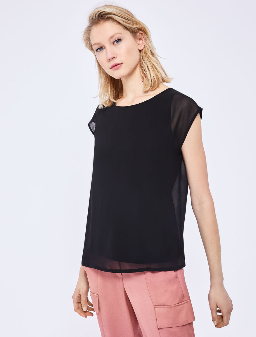 Top de georgette Marella